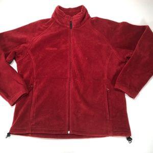 COLUMBIA Women's Lightweight Fleece Zip Front
